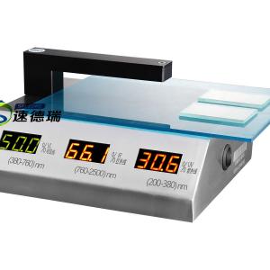 SDR851台式透过率测试仪 玻璃透光率仪