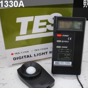 原装台湾泰仕TES1330A 数字照度计
